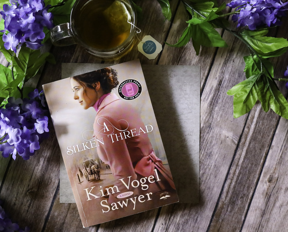 a silken thread kim vogel sawyer book review