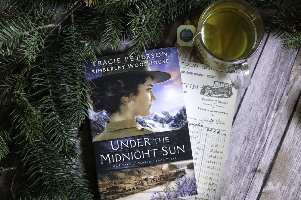 under the midnight sky tracie peterson book review