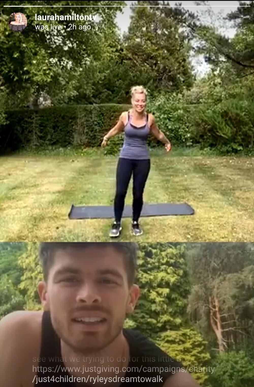 Laura Hamilton Yoga Mat