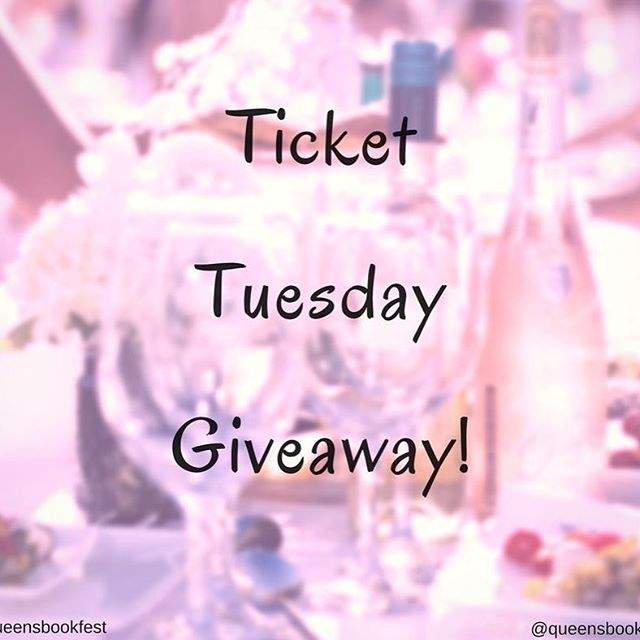 It's #TicketTuesday Giveaway!  Tag a friend in the comments below for a chance to win 2 tickets to #qborocrawl ✨✨ Remember, you BOTH must be following Queens Book Festival! We will DM the winner by 8pm tomorrow, EST! Good luck 💋 #allwhite