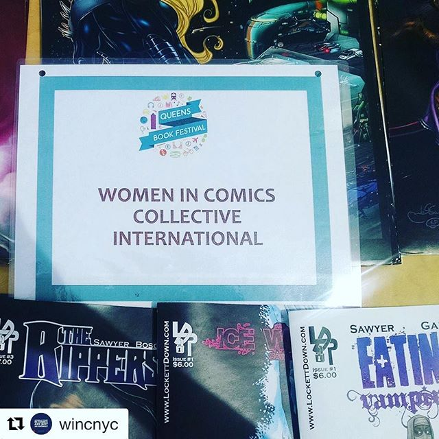 These ladies had some insanely creative graphic novels! 😀