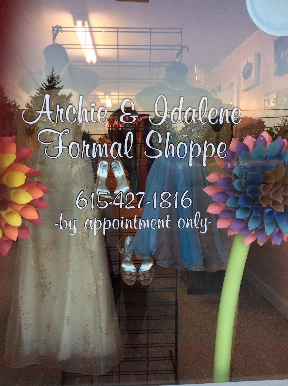 archie & idalene Formal Shoppe
