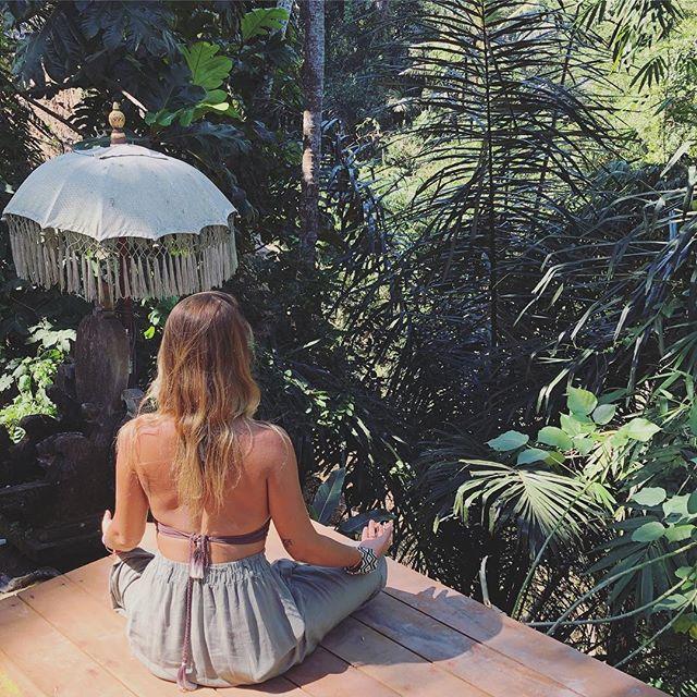Wild lifestyle.  Breathing in jungle wisdom. Breathing out all the rest.  #bali #islandlife #innerwork #revolutionarywarrior #humanempowerment  #selflove #humanbeings #meditation #consciousness #wisdom #freedom #wildprincess #trueself #awaken #dailypractice #dailymeditation #behowyouare  #innerjourney #guidance #yogaoffthemat #love #lovealwayswins #bethechange #chiaradelucia