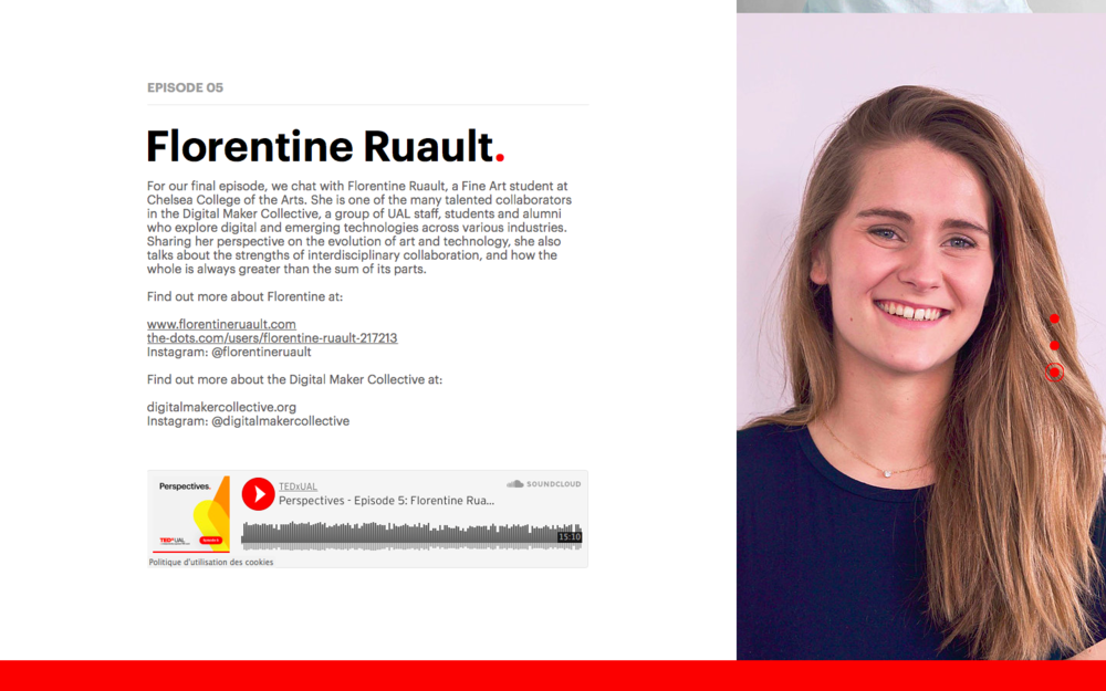 Florentine Ruault - Perspectives - TEDxUAL 2018