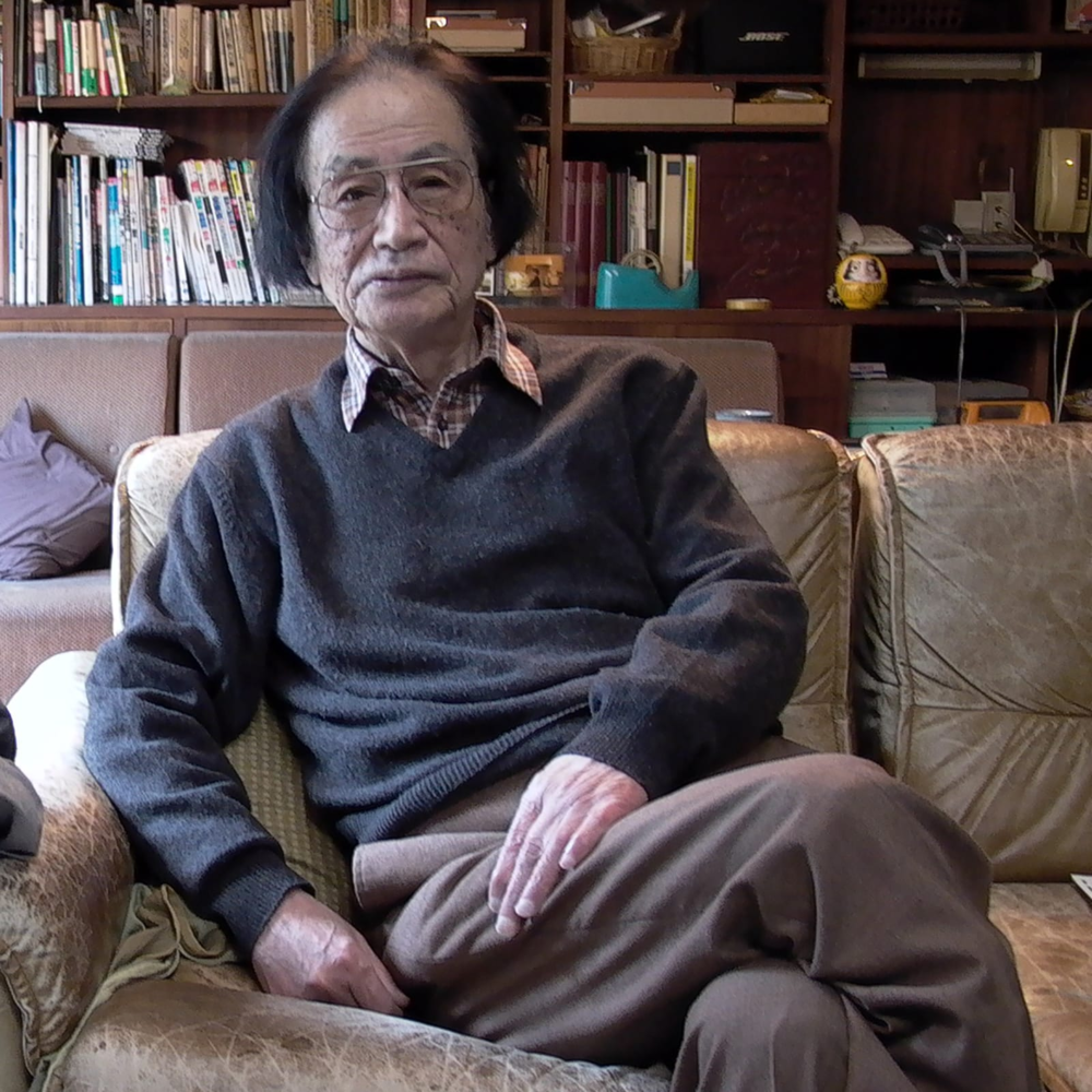 Shinobu Hashimoto (Image from  www.criterion.com )