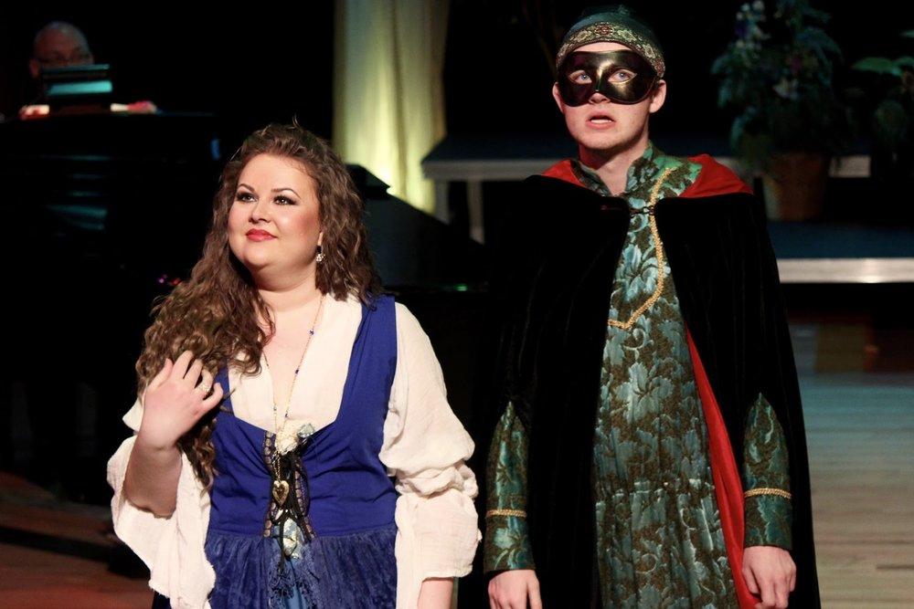WWU Opera Studio  Così fan Tutte .Photo by Charlotte Roulet. April 2016.