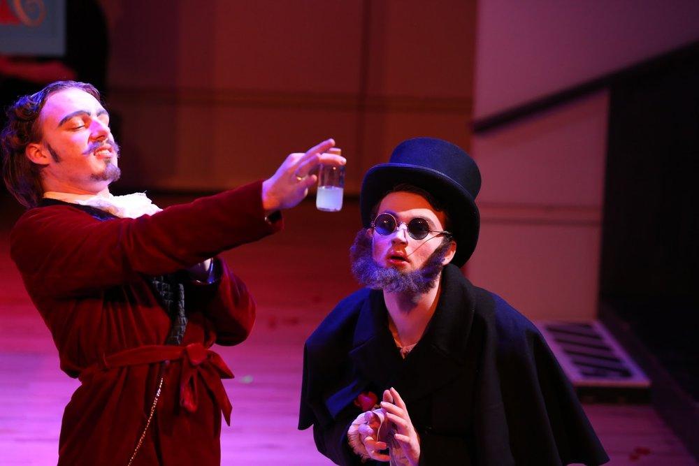 WWU Opera Studio  Lucrezia . Photo by Charlotte Roulet. April 2018.