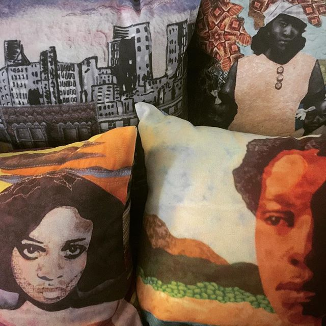 Celebrate summer in the city with pillows by The Gadson Gallery.  https://www.eventbrite.com/e/harlem-arts-stroll-saturday-july-15-2017-tickets-35212756302?aff=eiosprexshreclip&ref=eiosprexshreclip