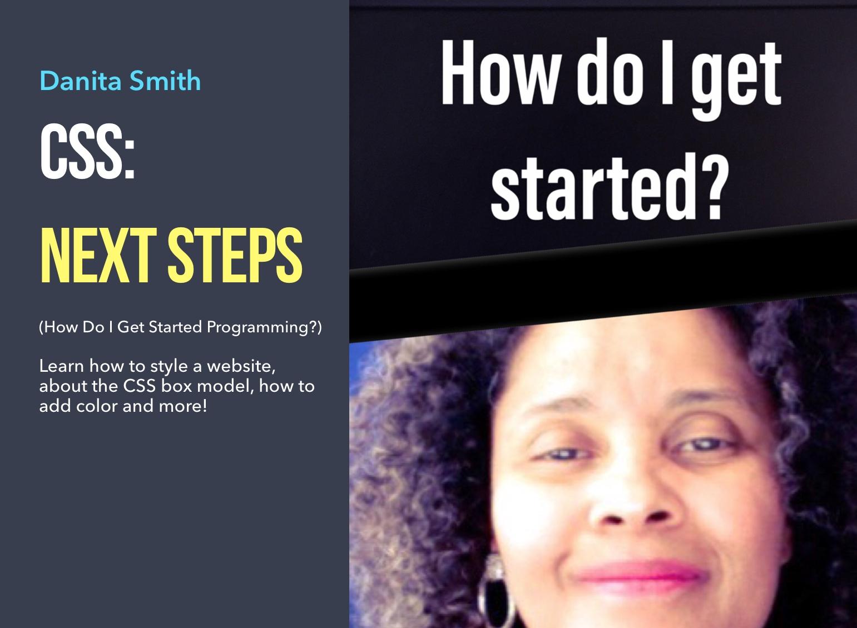 CSS: Next Steps