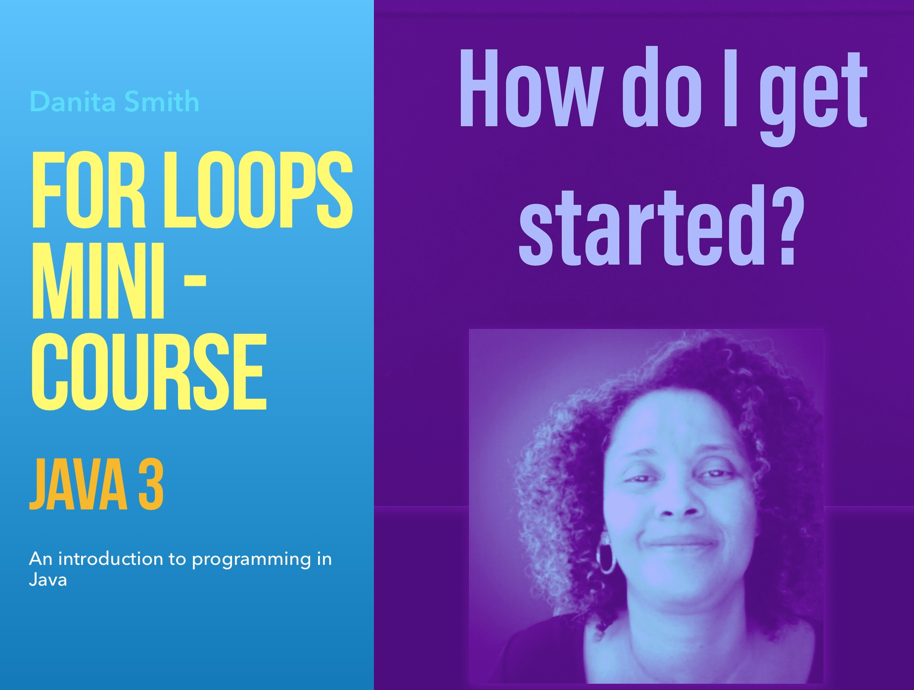 Mini-Course For Loops: Java 3