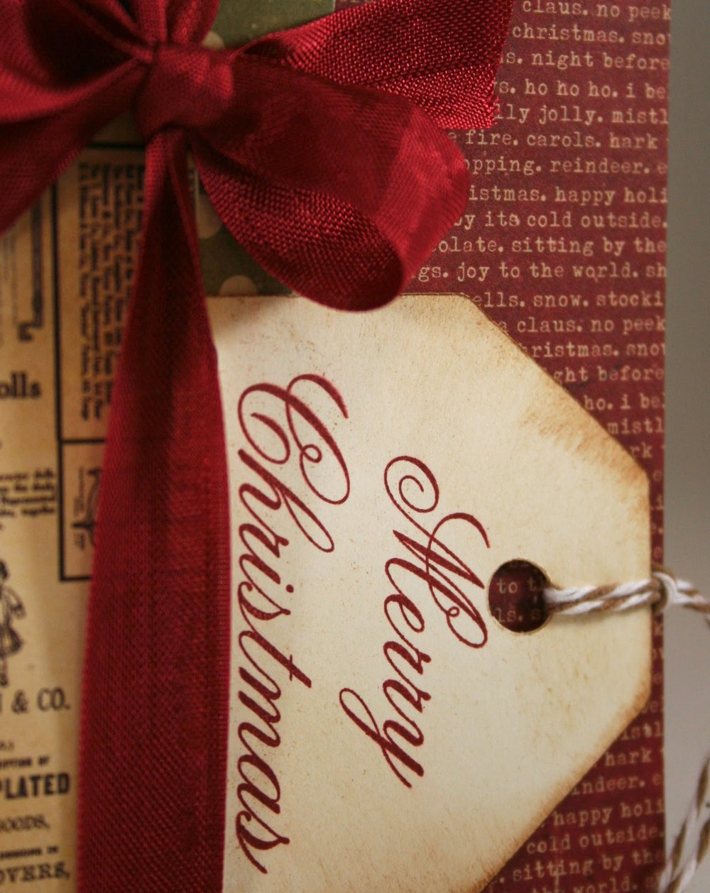 Vintage Holly Gift Card Holder  008.jpg