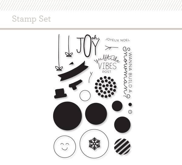 I honestly can't believe the  Snowman Stamp Set  is still available!  This is so versatile!  You can see a card and video I made using this stamp set  HERE .