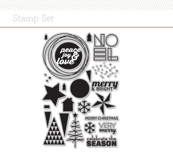 You may see a video from me soon, featuring  THIS Very Merry stamp set  by JJ Bolton.  Love it!