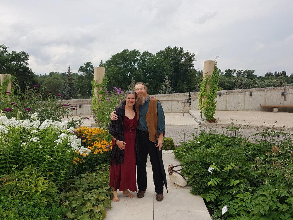 Sue and John Alexander