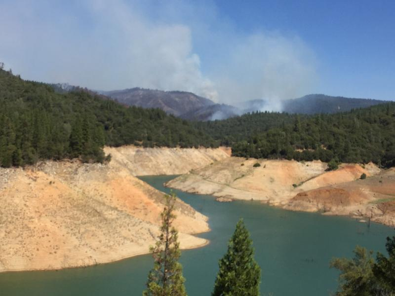 Ponderosa Fire Still Blazing and Residents Still Evacuating   KQED's The California Report