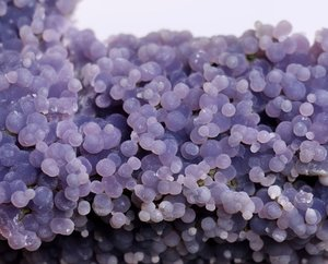 Natural Grape Agate-  Botryoidal  Purple Chalcedony Specimen, Indonesia