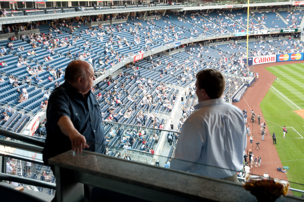 Ailes and Lindsley, Yankee Stadium.