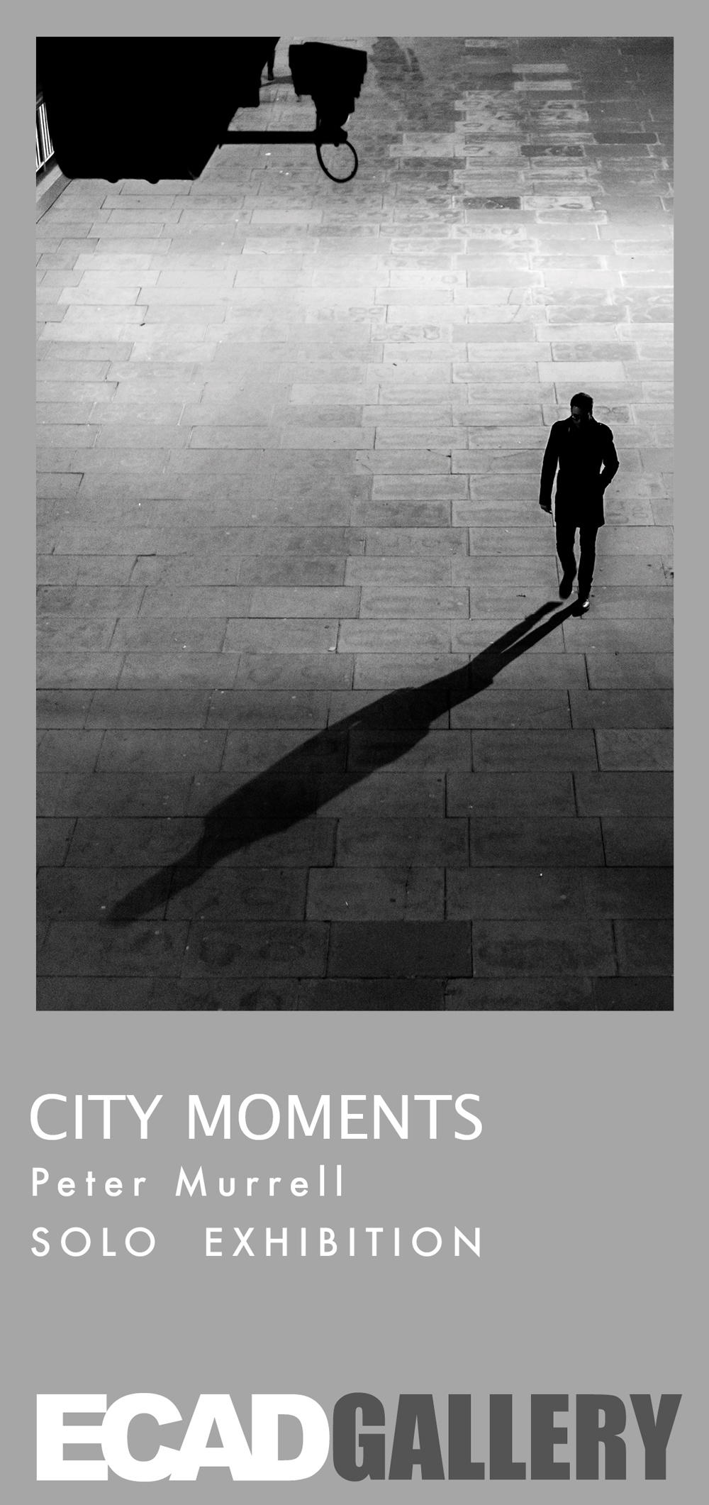 Peter Murrell | Jan 25 - Feb 25 - Award Winning London Photographer - Peter Murrell is an acclaimed street, people and architectural photographer based in London. He took up photography six years ago, where rumour has it he is never without his camera thus resulting in a style that can only be described as candid, random, and visually engaging offering an alternative but authentic view of city life.'Coming from a civil engineering/building management background capturing architectural images appealed to him but as time went by he felt his work lacked the 'human element' these structures were designed to serve. Hence you will find his work may contain a solitary figure drifting in or out of the image bringing perspective and atmosphere.Peter is forever broadening his horizons and is keen to discover new ways of expressing himself from behind the lens.'