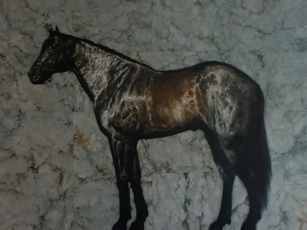 Horse on Marble