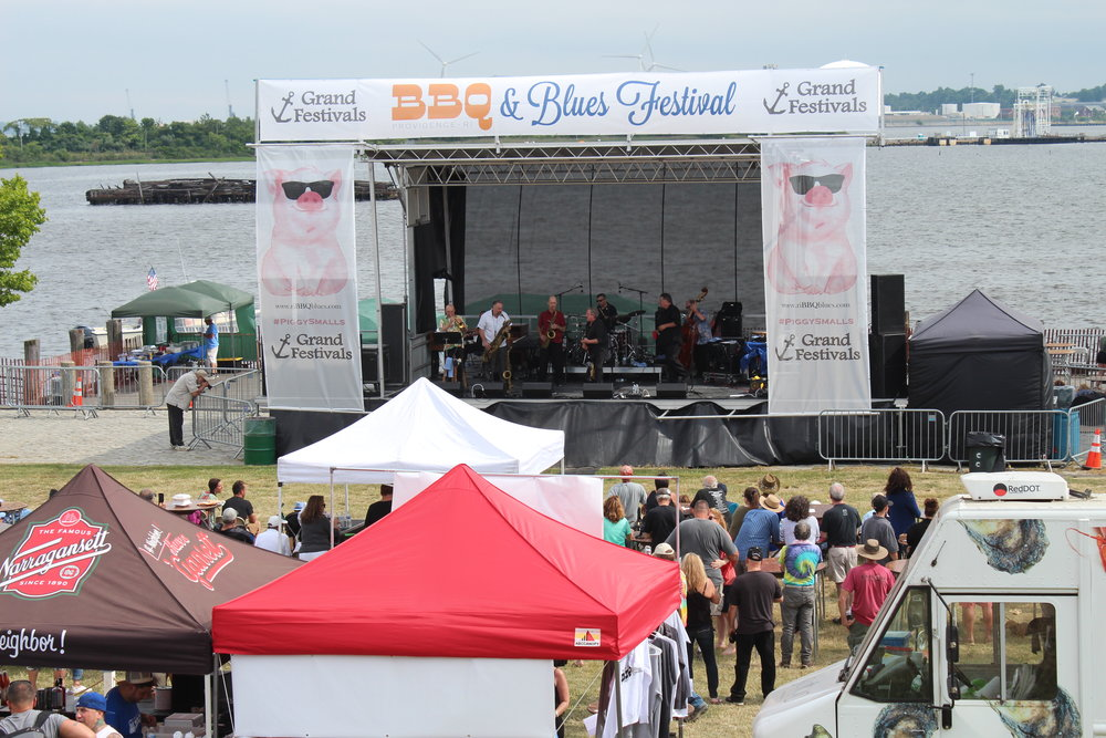 2018 India Point BBQ & Blues Festival