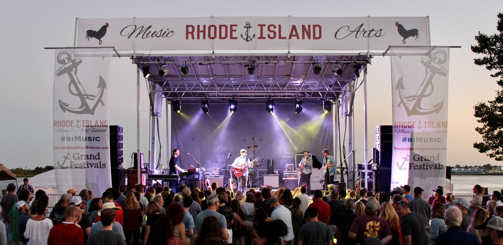 Ryan Montbleau Band performing at the 2018 Rhode Island Music & Arts Festival