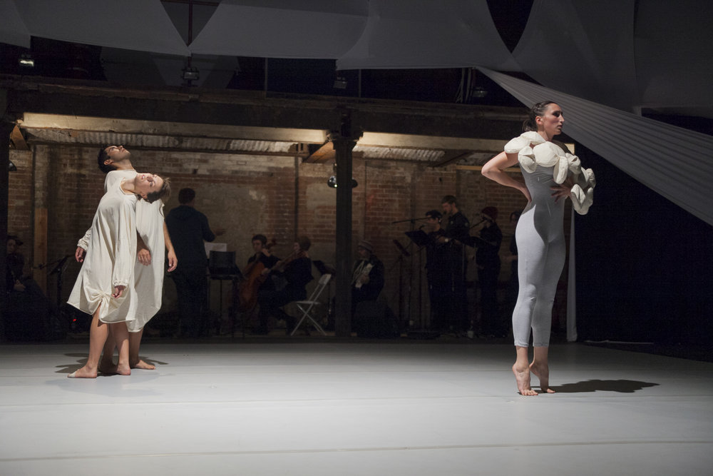 From the Margins, This Unmentioned    Bronwen MacArther and Bryan Senti  Brooklyn Lyceum  Brooklyn  Photo © Anja Hitzenberger
