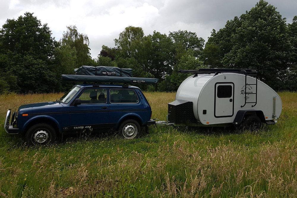 Offroad eller asfalt. Alt fungerer med Hero Camper. Testet av  Dare to be different outdoor  i Nederland.