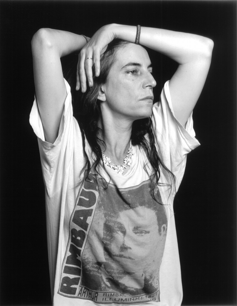 Patti Smith, Musician and Writer, New York City 1996,