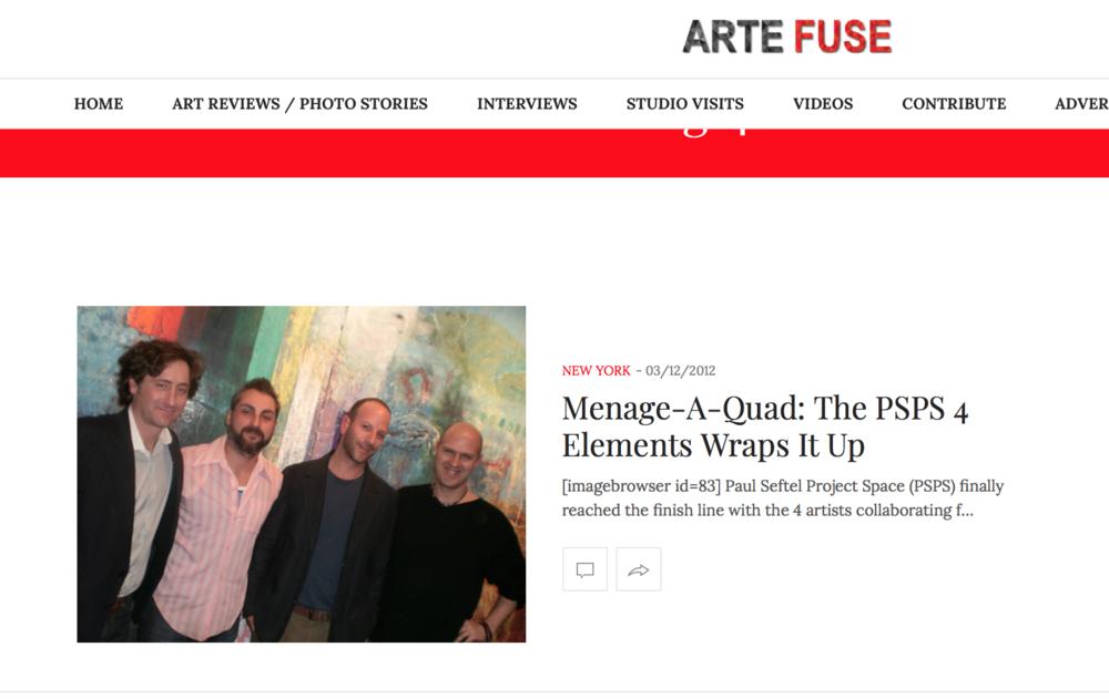 Artefuse article