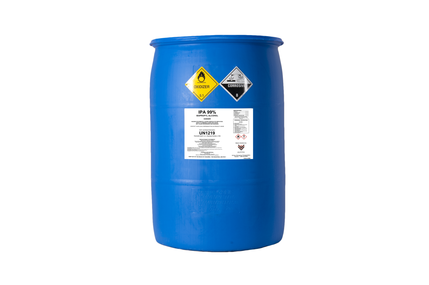 Isopropyl Alcohol 99 55 Gallon