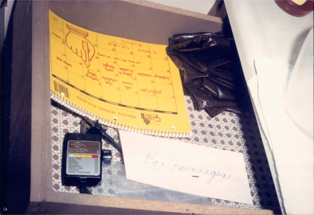 Leila Mulla's diaries were found in their Las Vegas apartment after their arrest in December, 1984
