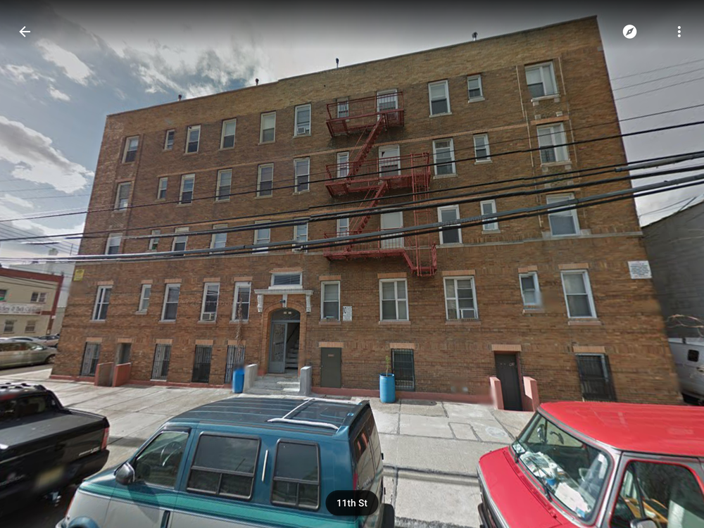 "The Astoria, Queens, NY apartment building where Leila Mulla ""got lost"" for years before being arrested there by Baton Rouge detectives in December, 2012"