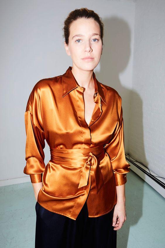 Datura Studio silk shirt