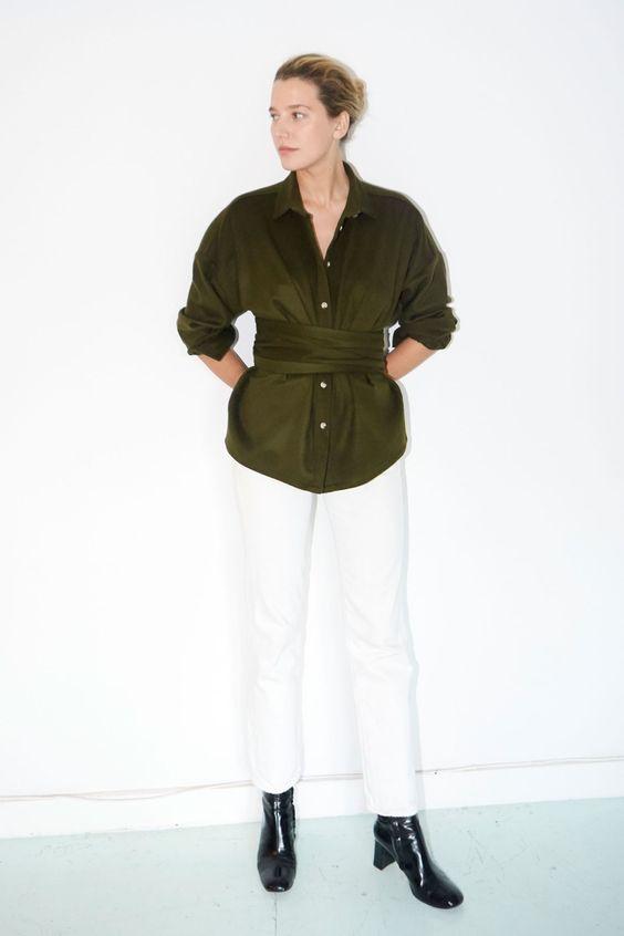 Datura Studio white culottes
