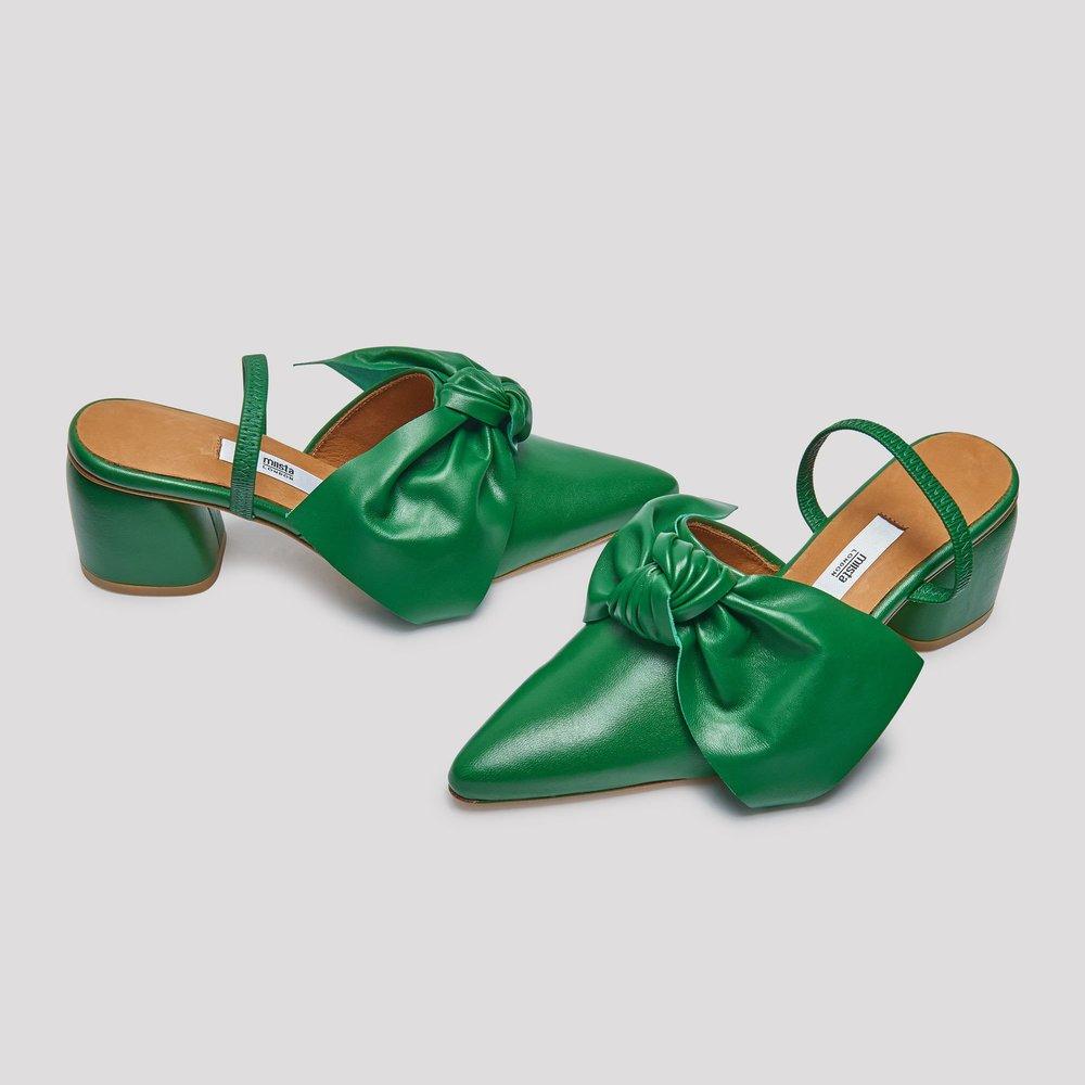 Miista green sandals