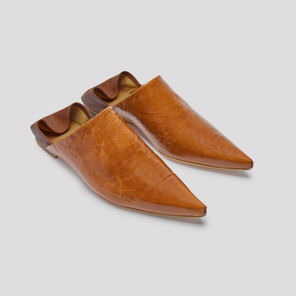 Miista brown mules