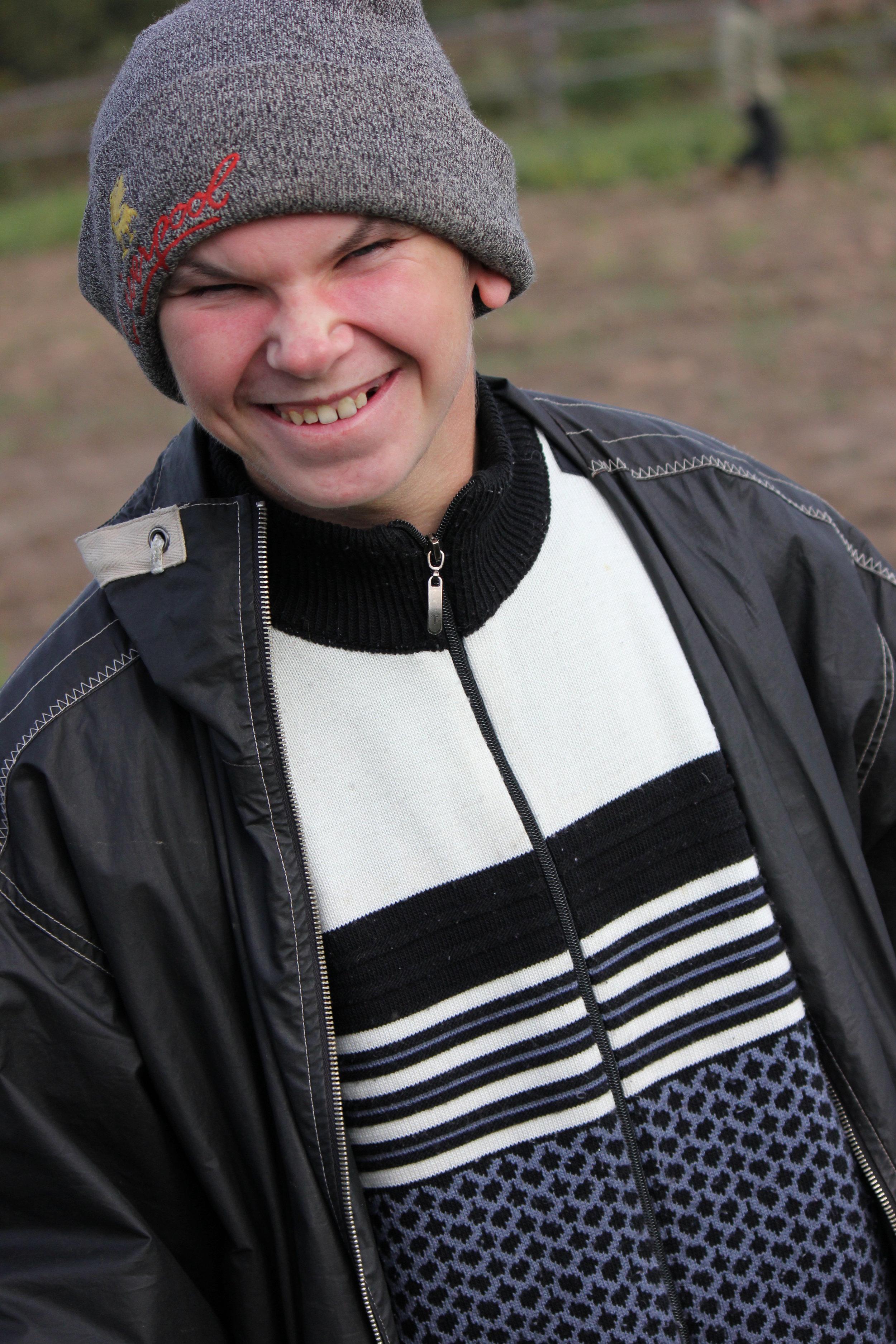 Tolik at the Vladimir Dacha