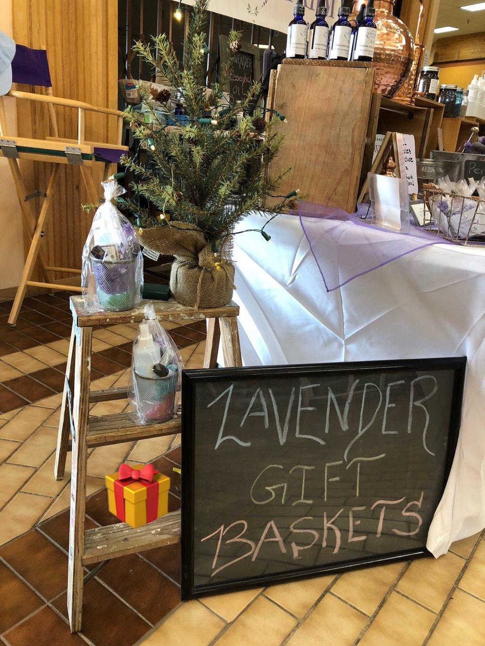 Lavender gift baskets!!💜