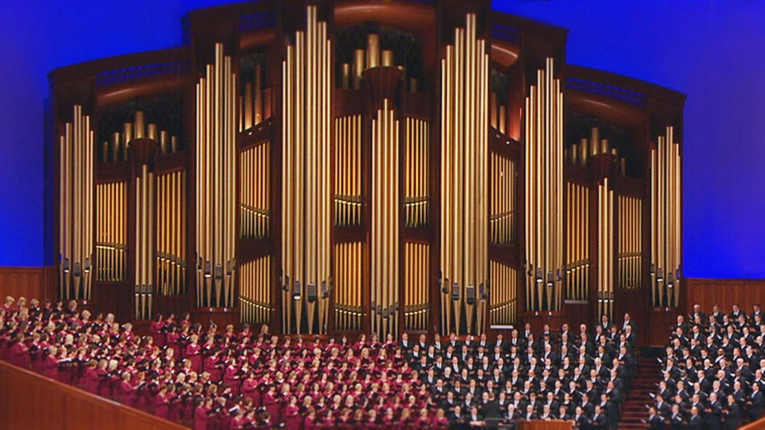 Be Thou My Vision' Premiere - Tabernacle Choir at Temple