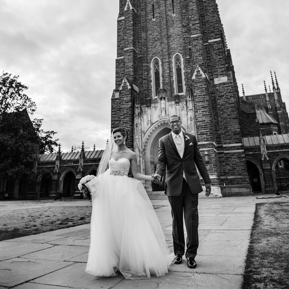 Duke Wedding Featured on The Knot & Borrowed & Blue—>