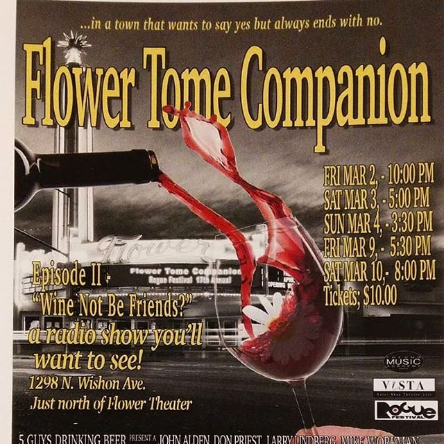 "The Tomers last show is tonight! Come see the show Harrison Freeler called, ""The radio show you have to see!"""