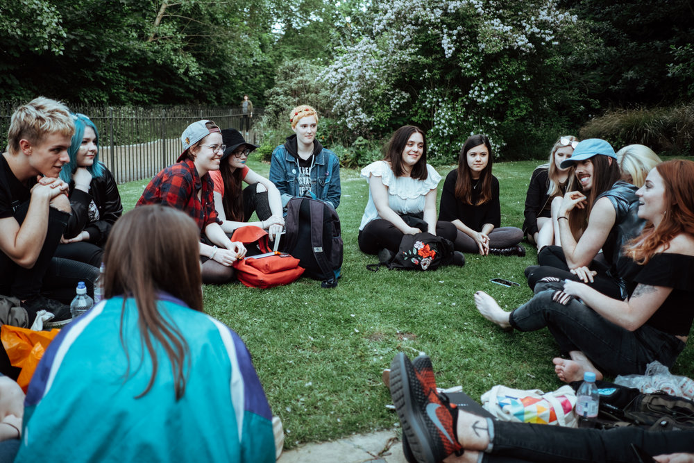Photo by Jared Heveron - London: Hyde Park Meet Up