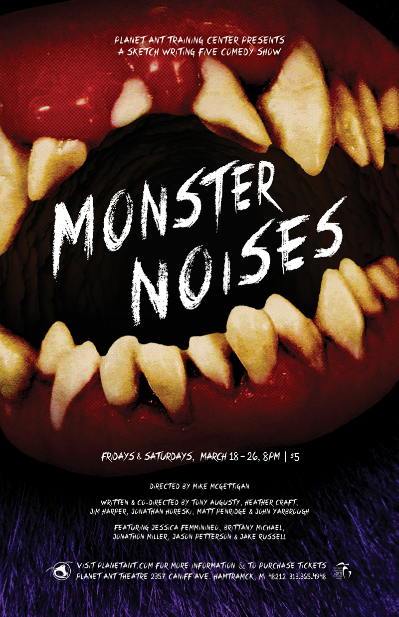 Monster Noises Poster