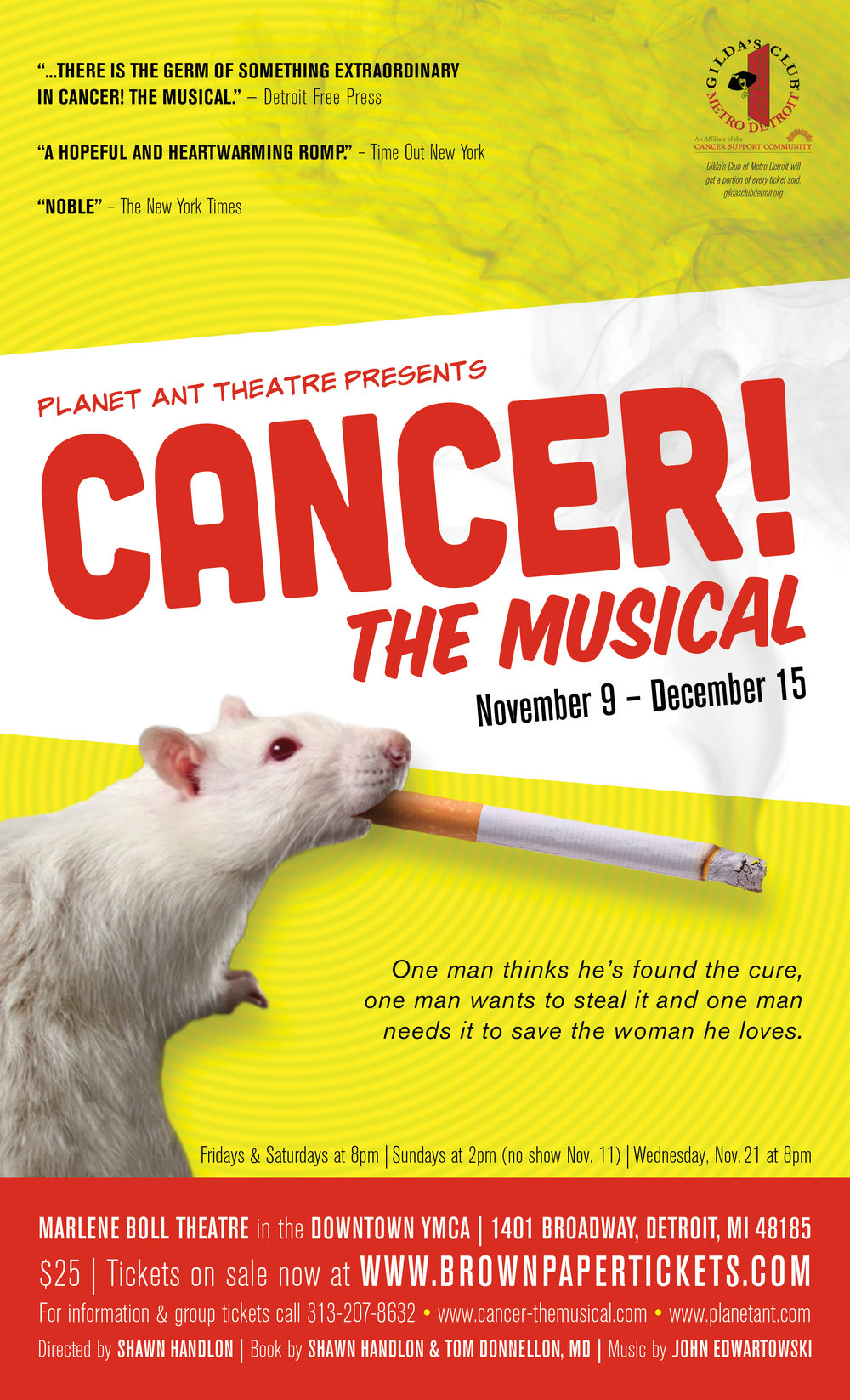 Cancer The Musical Poster