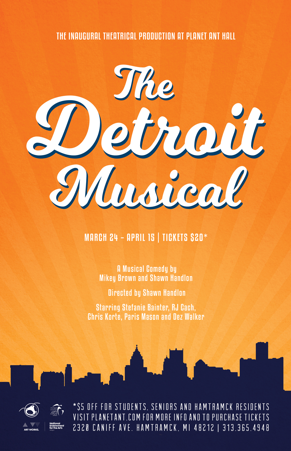The Detroit Musical Poster