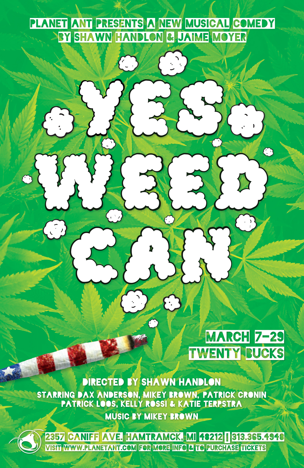 Yes Weed Can Poster