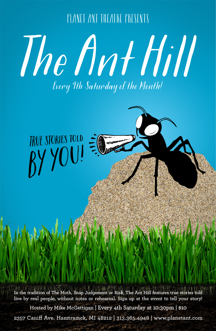 The Ant Hill Poster