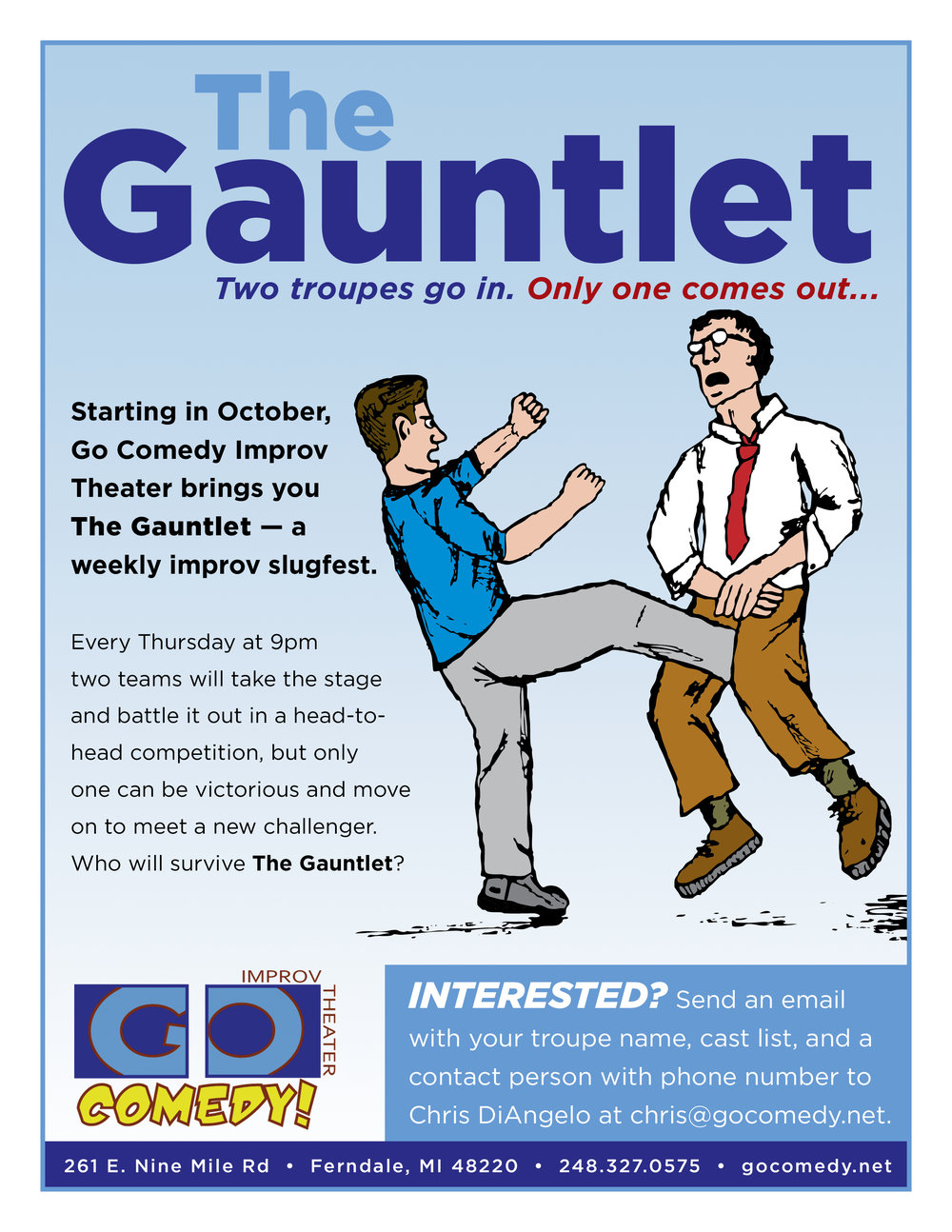 The Gauntlet Flyer