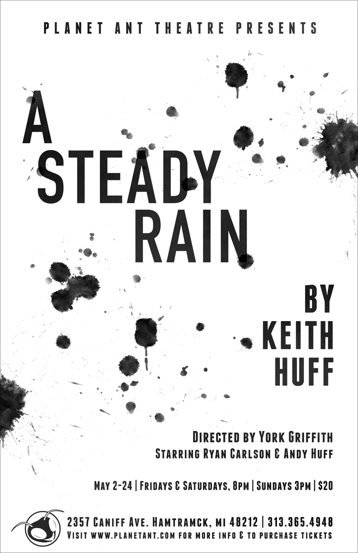 A Steady Rain Poster