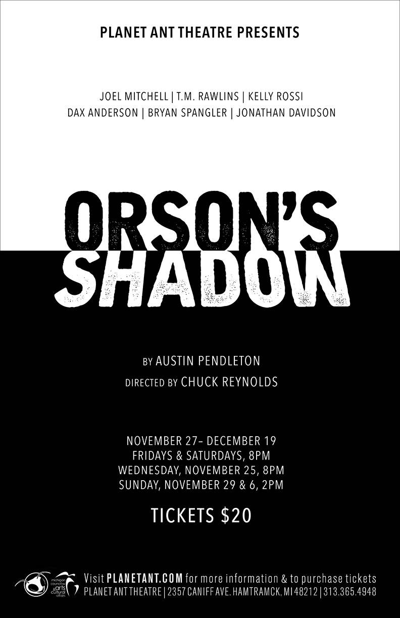 Orson's Shadow Poster